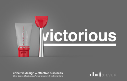 Path Wins Silver at the DBA Design Effectiveness Awards for its work on Cornerstone
