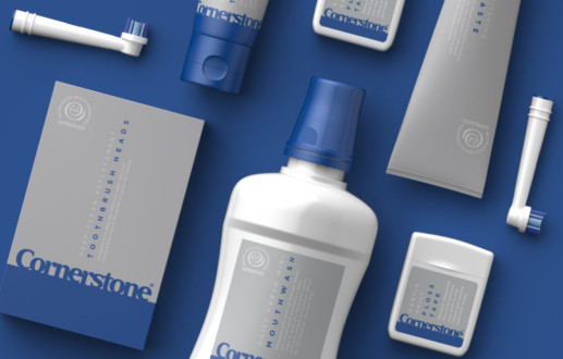 The Cool Blue Line: Cornerstone launches dental care range
