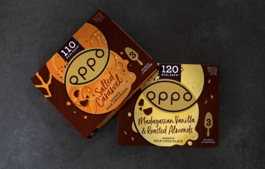 Cracking New Design for Oppo Ice Cream Sticks